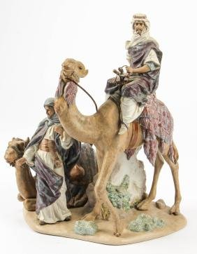 Lladro #3555 Bedouin Figural Group