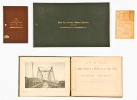 4 pc Collection of Civil Engineering Ephemera Group
