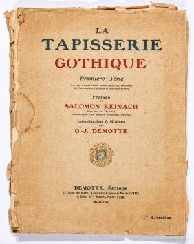 1921 Volume Tapisserie Gothique
