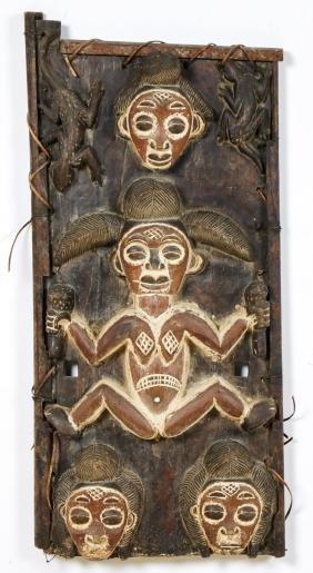 African Punu Granary Door