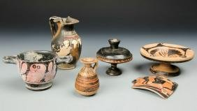 Collection Apulian, Boetian, and Gnathian Greek Pottery