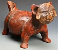 Pre Columbian Zoomorphic Colima Figure