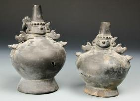 Sican Lembayeque Blackware Vessels