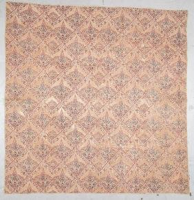 Antique Printed Cotton American Quilt