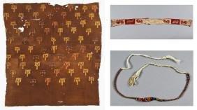 3 Pre-Columbian Textiles: Huari, Nazca, Central Coast