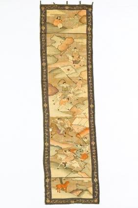 Antique Chinese Silk Kesi Tapestry Panel