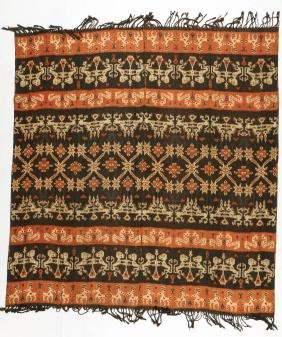 Matched Pair of Sumba Hinggi/Man's Mantle, Indonesia