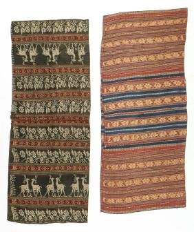 2 Sarongs, Flores, Indonesia