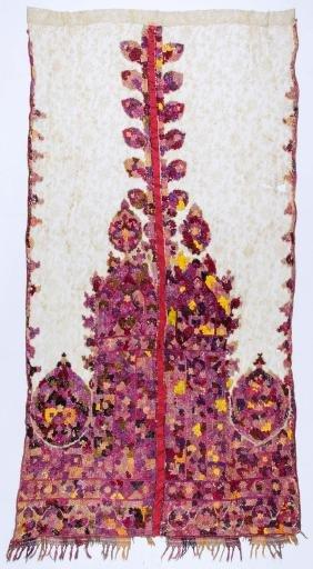 Antique Moroccan Rabat Embroidery