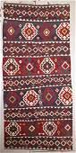 Antique Caucasian Kilim: 5'5'' x 11'7'' (165 x 353 cm)