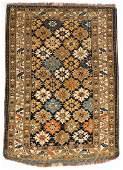 Antique Kuba Rug : 4' x 5'7'' (122 x 170 cm)