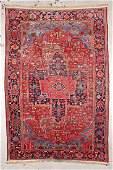 Antique Heriz Rug: 8' x 11'8'' (244 x 356 cm)