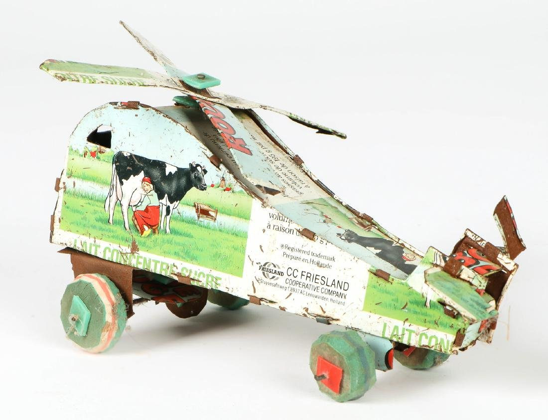 4 African Tin Toys - 2