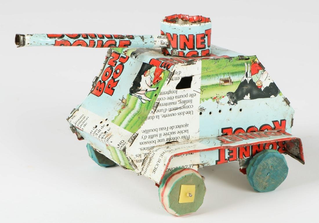 4 African Tin Toys - 3