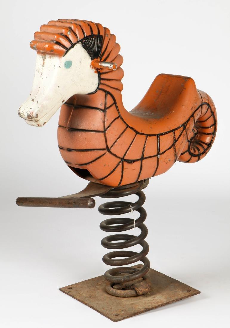 Vintage Sea Horse Playground Spring Rider