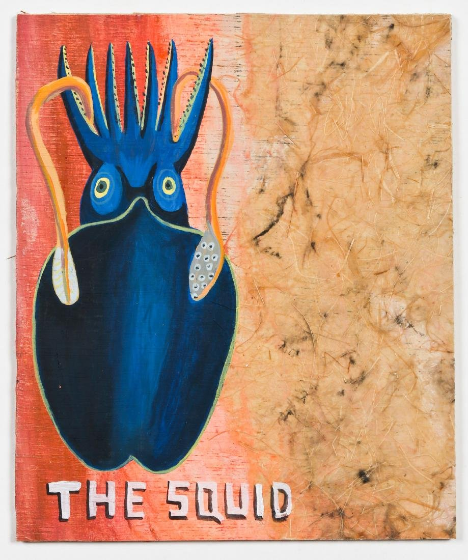 "Javier Mayoral (American, 20th c.) ""The Squid"" - 2"