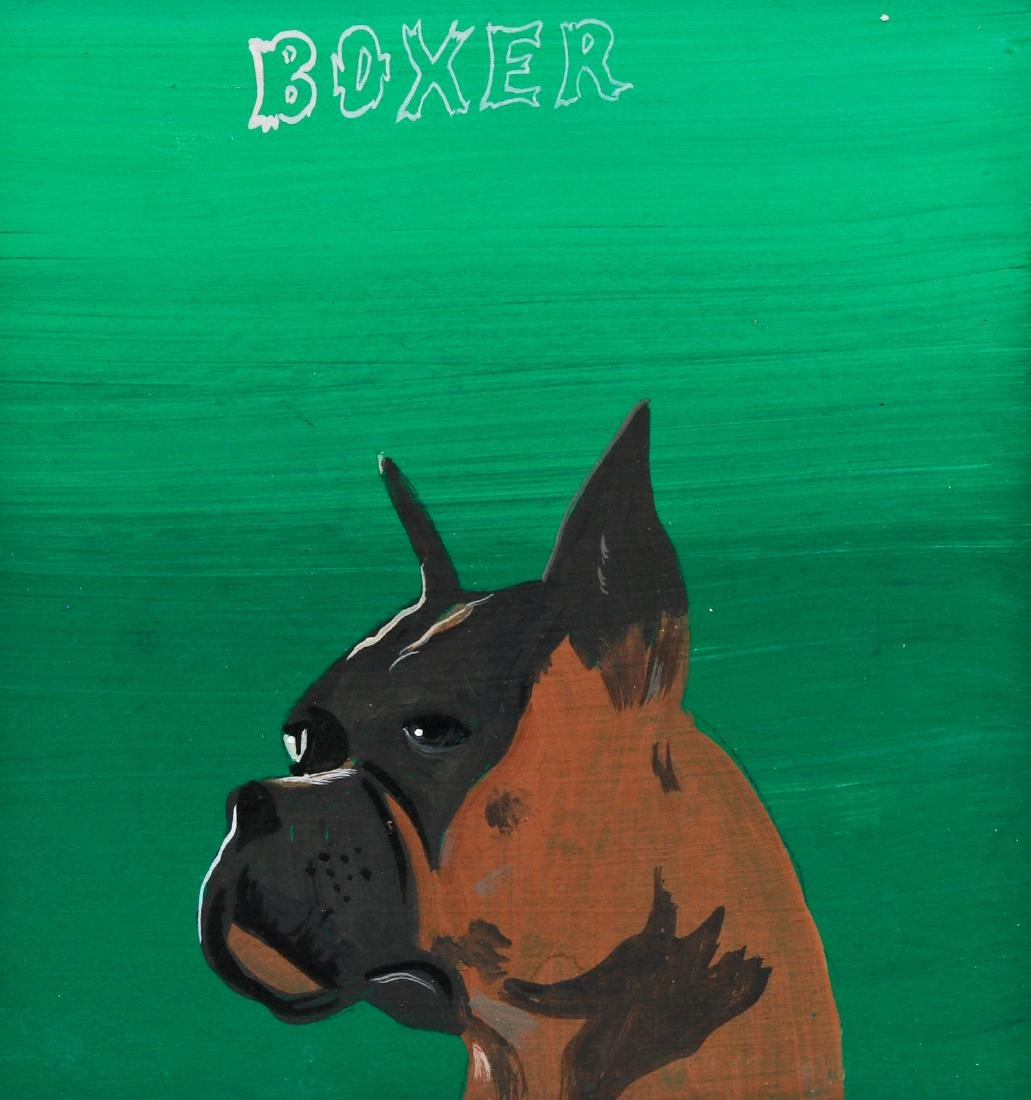 "Javier Mayoral (American, 20th c.) ""Boxer"""
