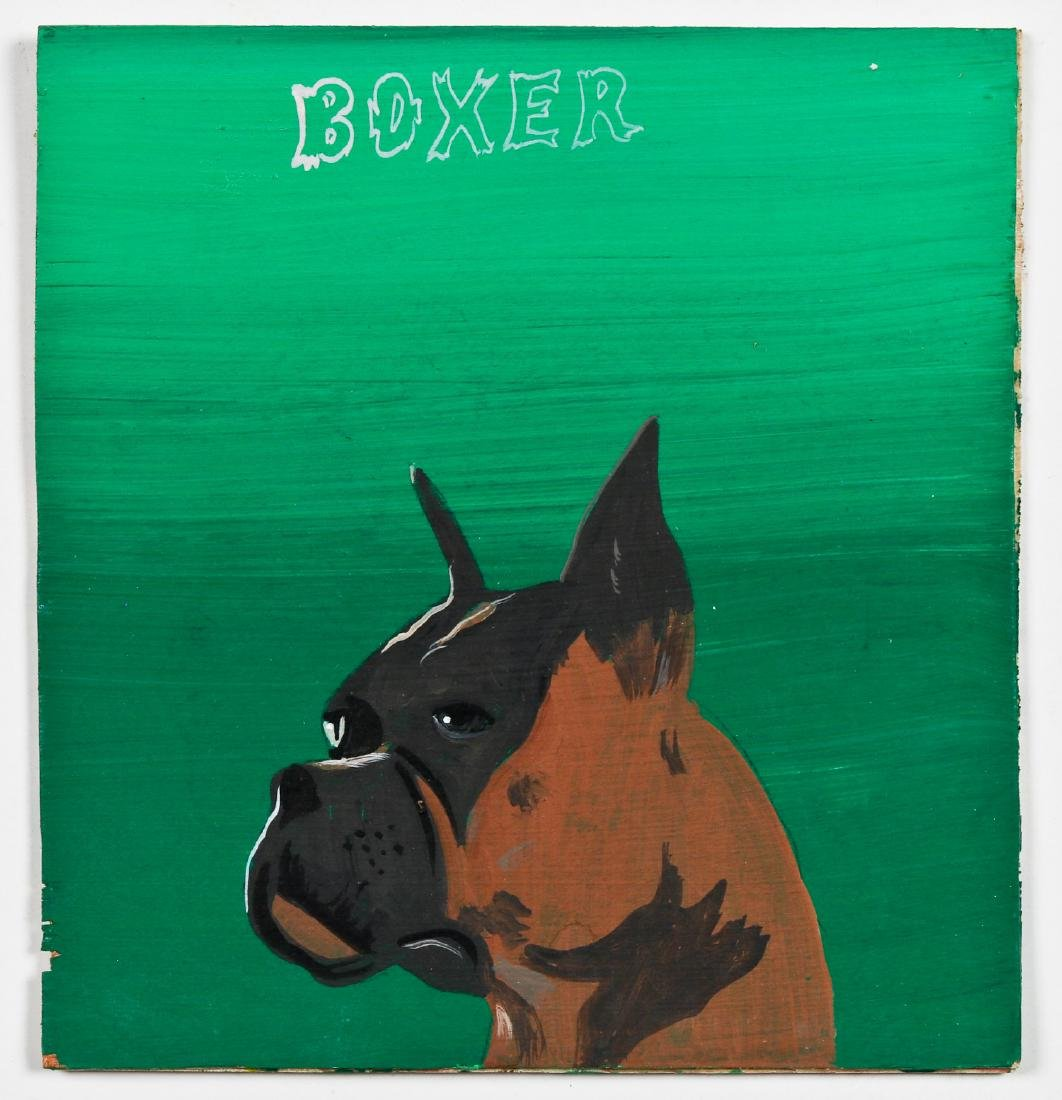 "Javier Mayoral (American, 20th c.) ""Boxer"" - 2"