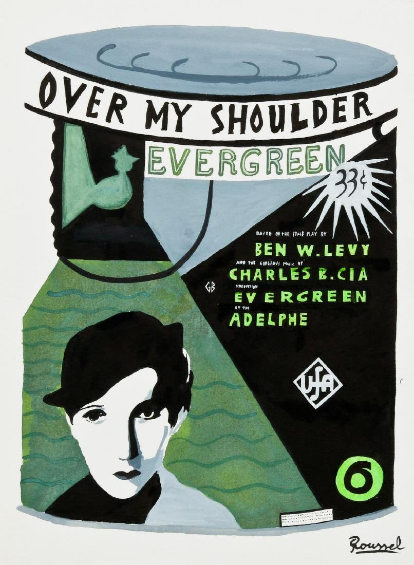 "Javier Mayoral (American, 20th c.) ""Over My Shoulder"