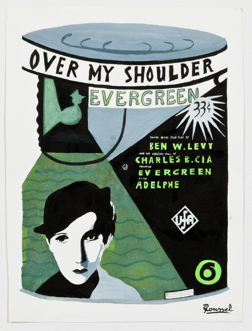 "Javier Mayoral (American, 20th c.) ""Over My Shoulder - 2"