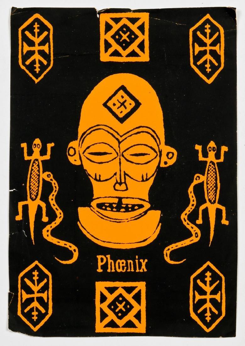 "Javier Mayoral (American, 20th c.) ""Pheonix"" - 2"