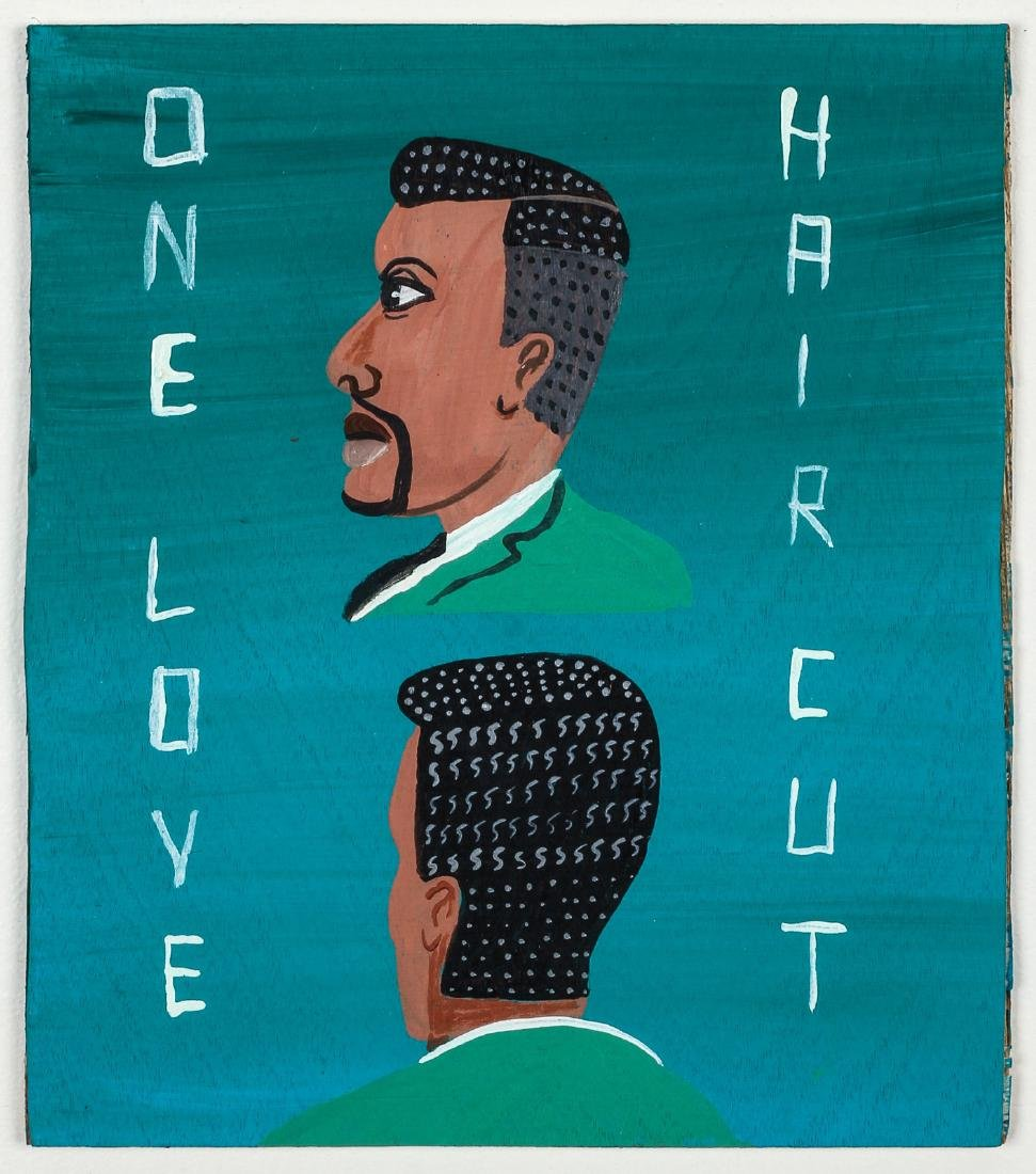 "Javier Mayoral (American, 20th c.) ""One Love Hair Cut"" - 2"