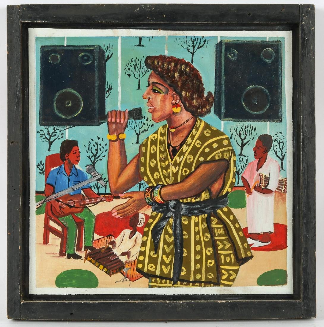 Afro-Disco Singer