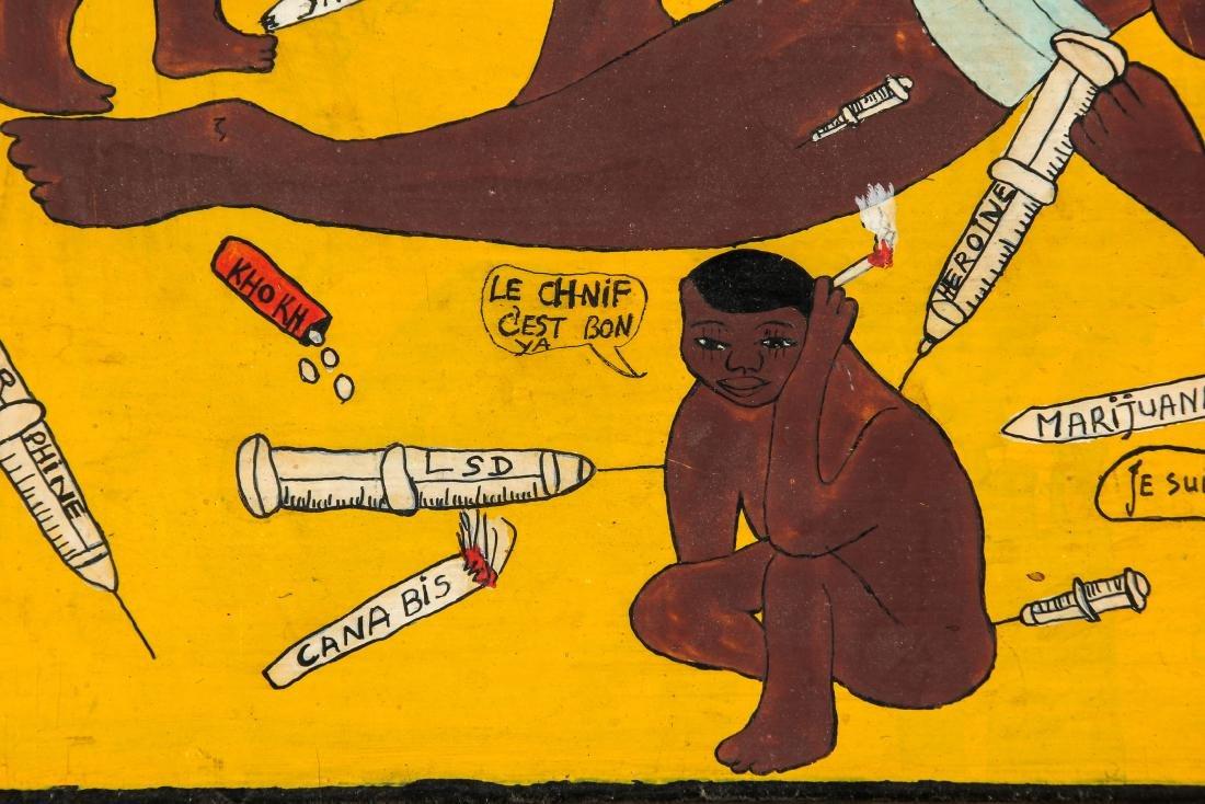 "Diane Boubacar (African, 20th c.) ""Drogue"", 1987 - 3"