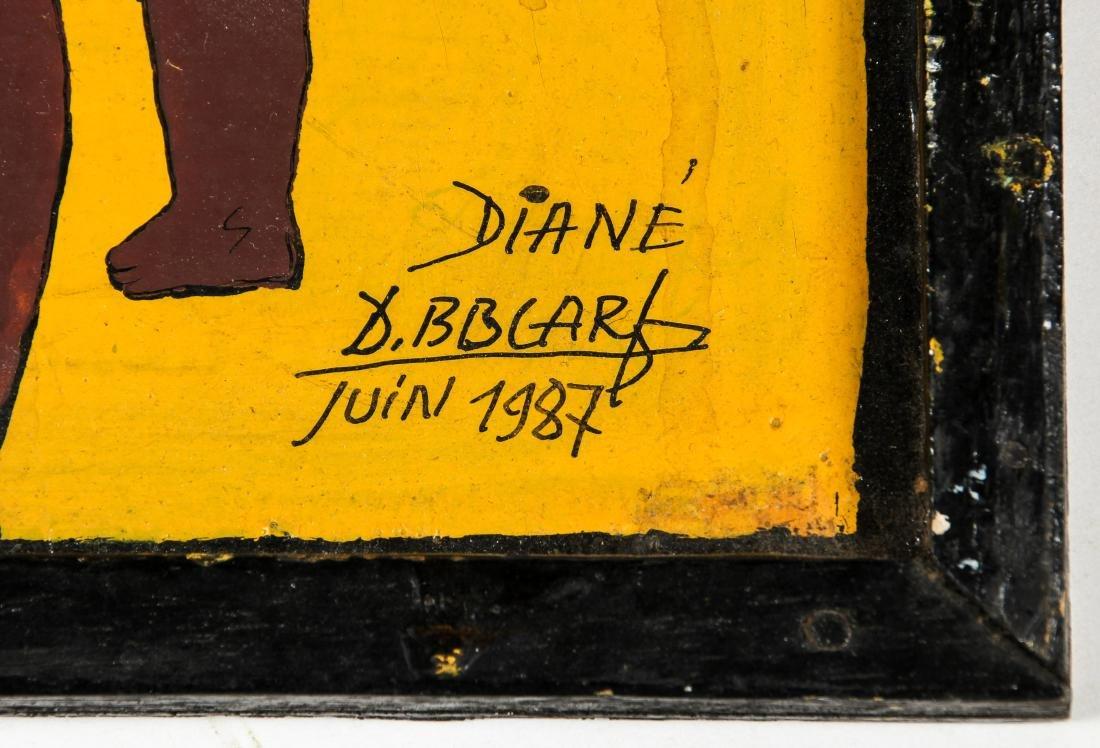 "Diane Boubacar (African, 20th c.) ""Drogue"", 1987 - 4"
