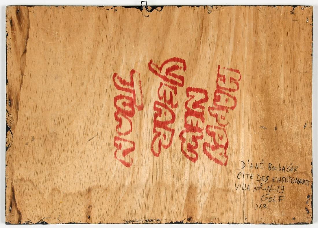 "Diane Boubacar (African, 20th c.) ""Drogue"", 1987 - 5"