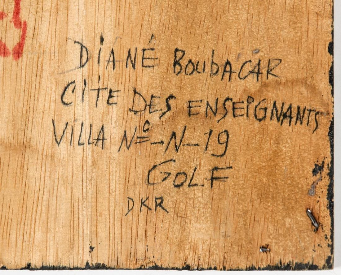 "Diane Boubacar (African, 20th c.) ""Drogue"", 1987 - 6"