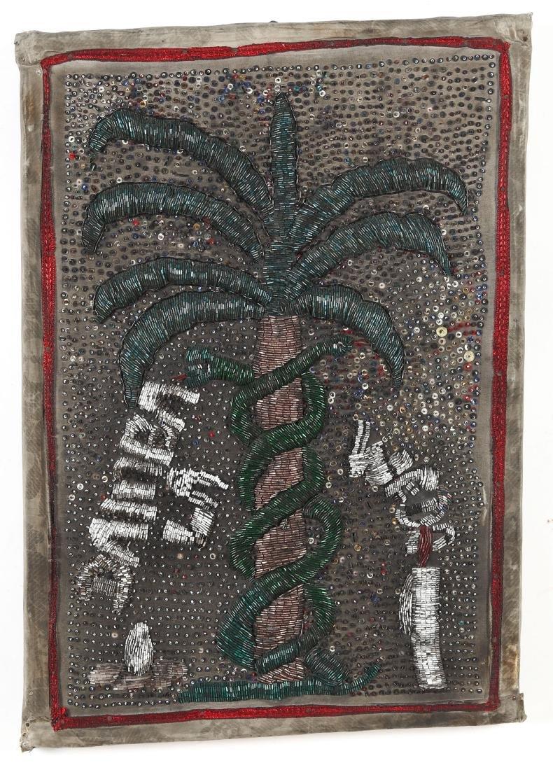 """Haitian """"Damballa"""" Flag (20th c.) - 2"""