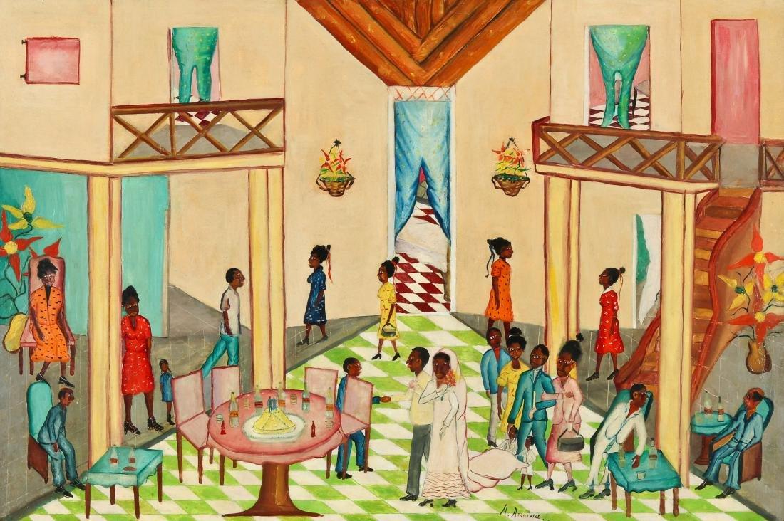 A. Armand (Haitian, 20th c.) Wedding