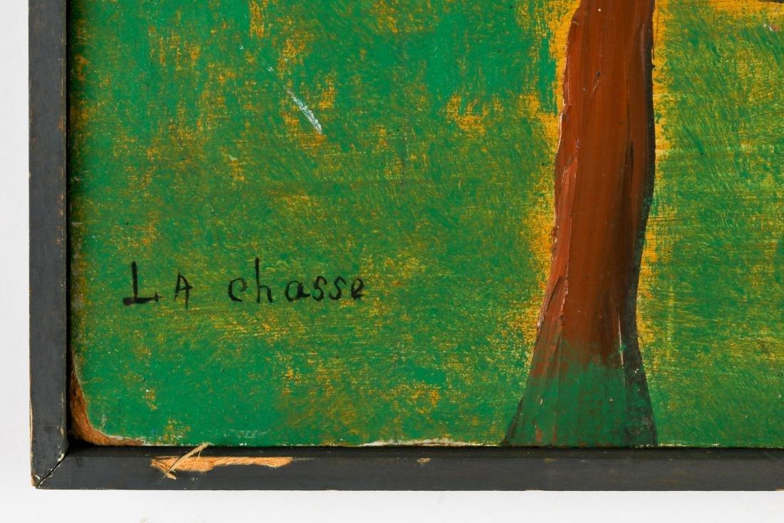 """Charles Anatole (1922-1979) """"La Chasse"""" - 3"""
