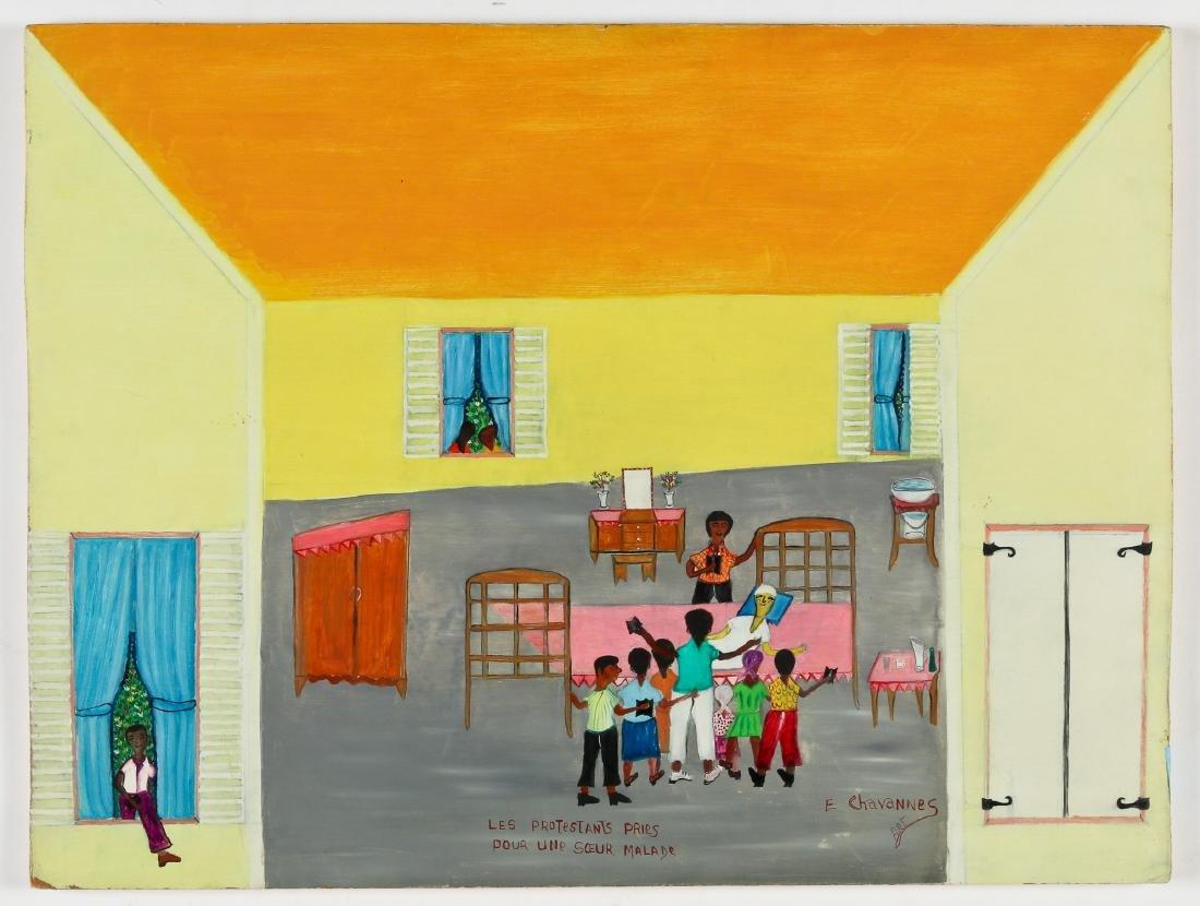 Etienne Chavannes (Haitian/Cap-Haïtien, b. 1939) - 2