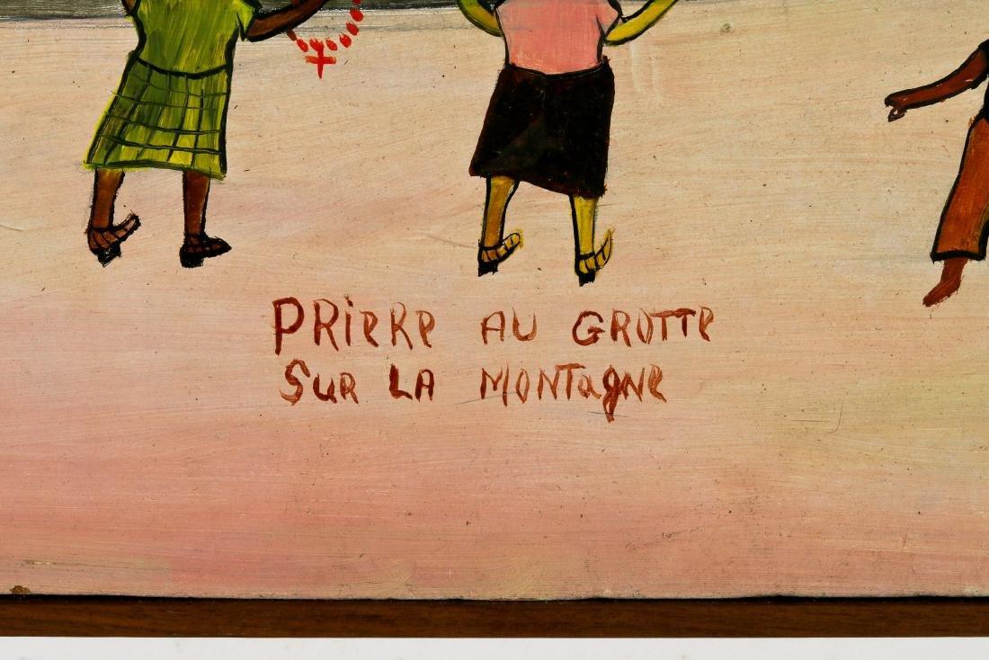 Etienne Chavannes (Haitian/Cap-Haïtien, b. 1939) Priere - 3