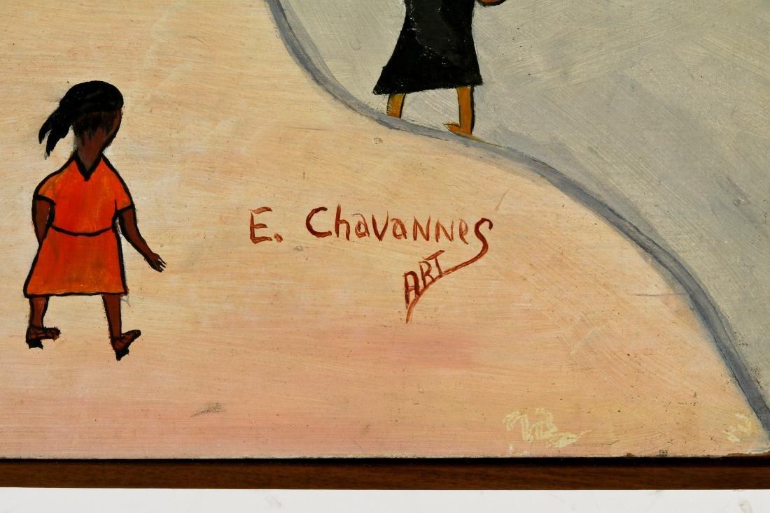 Etienne Chavannes (Haitian/Cap-Haïtien, b. 1939) Priere - 4
