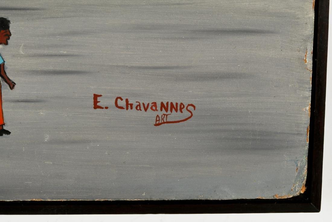 Etienne Chavannes (Haitian/Cap-Haïtien, b. 1939) Garage - 3