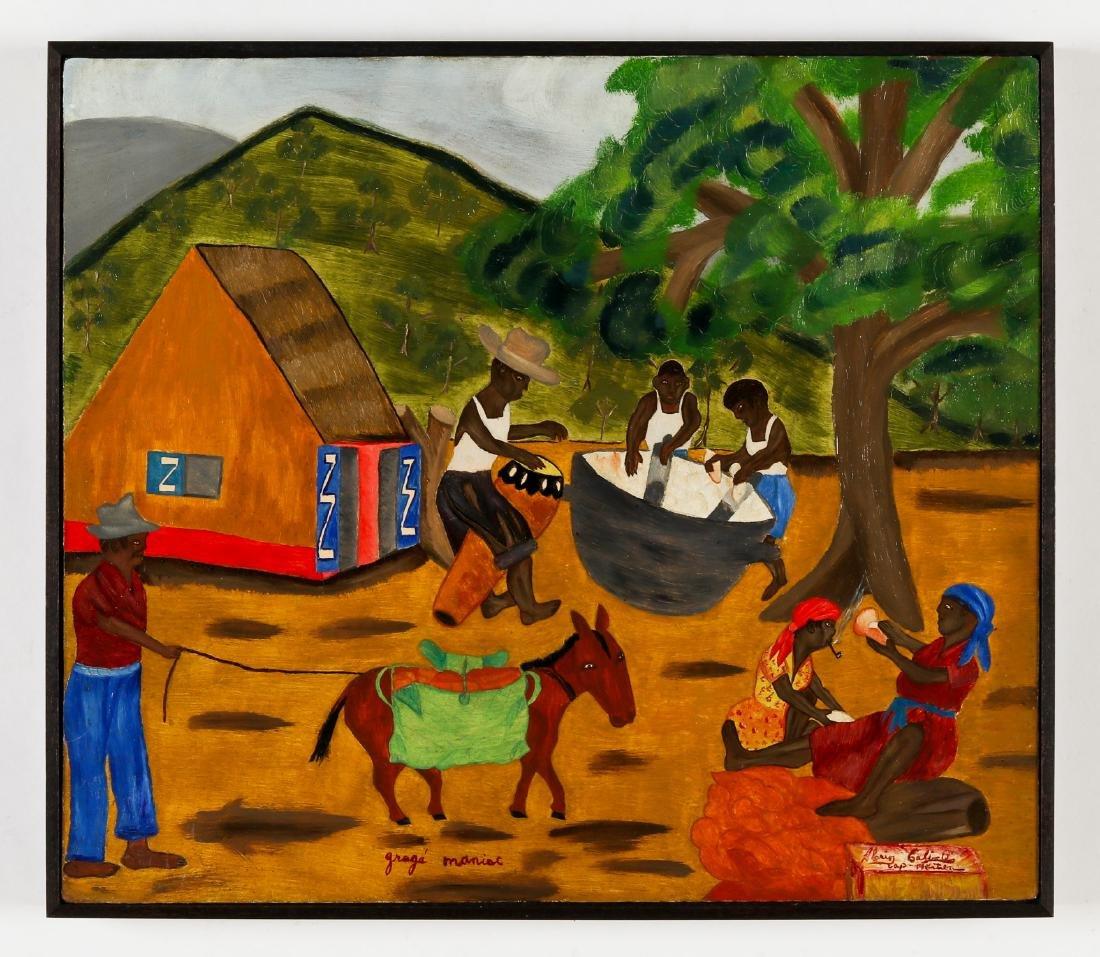 Henri Calixte (Haitian/Cap-Haïtien, 20th c.) Gragé - 2