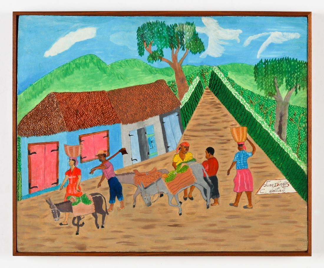Juan Dinais (Haitian/Cap-Haïtien) On Way to Market - 2