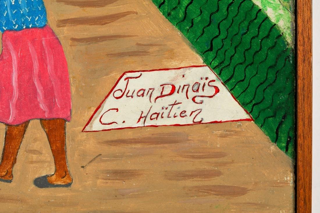 Juan Dinais (Haitian/Cap-Haïtien) On Way to Market - 3