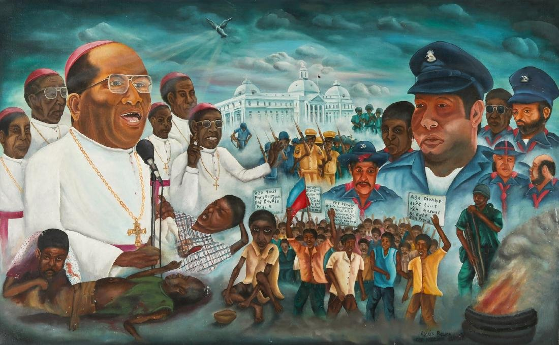 Alexis Patrick (Haitian/Cap-Haïtien, 20th c.) The