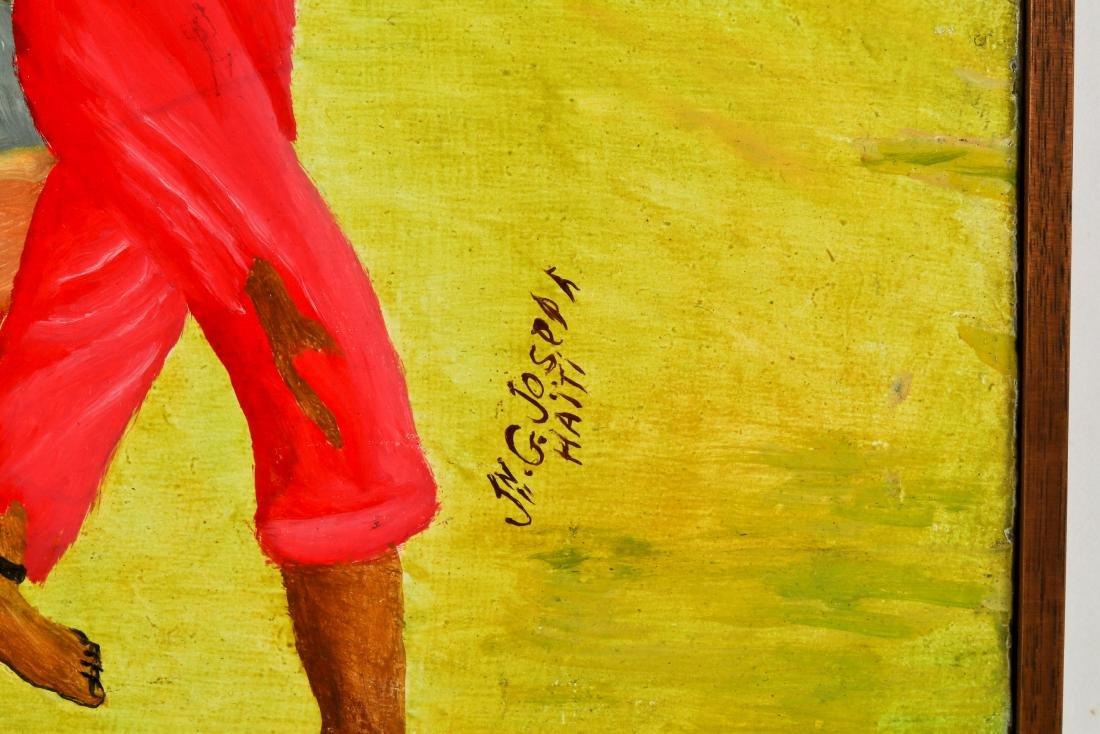 Jn G. Joseph (Haitian, 20th c.) Sugar Cane Slavery - 3