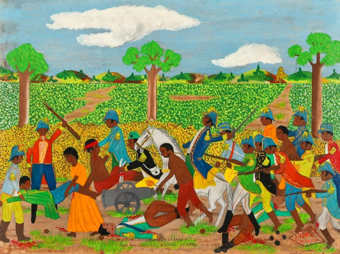 J. Fontil (Haitian/Cap-Haïtien, 20th c.) Haitian