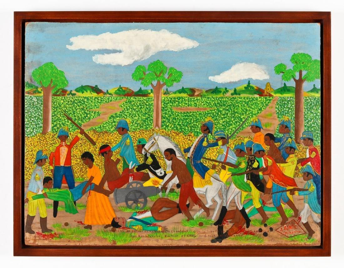 J. Fontil (Haitian/Cap-Haïtien, 20th c.) Haitian - 2