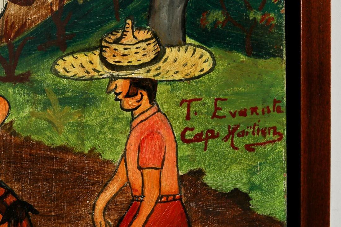 T. Evariste (Haitian/Cap-Haïtien, 20th c.) Tourists en - 3
