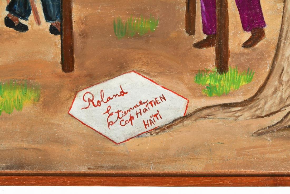 Roland Etienne (Haitian/Cap-Haïtien, 20th c.) Playing - 3