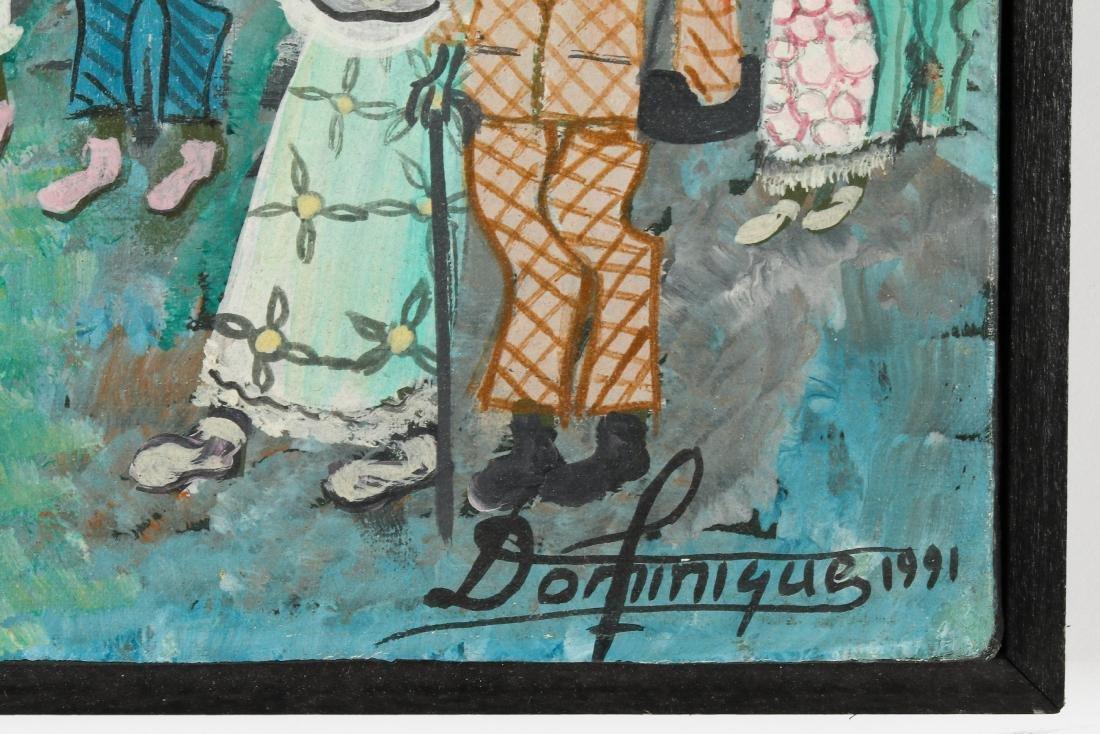 Dominique (Haitian, 20th c.) Animals Make Ceremonial - 3