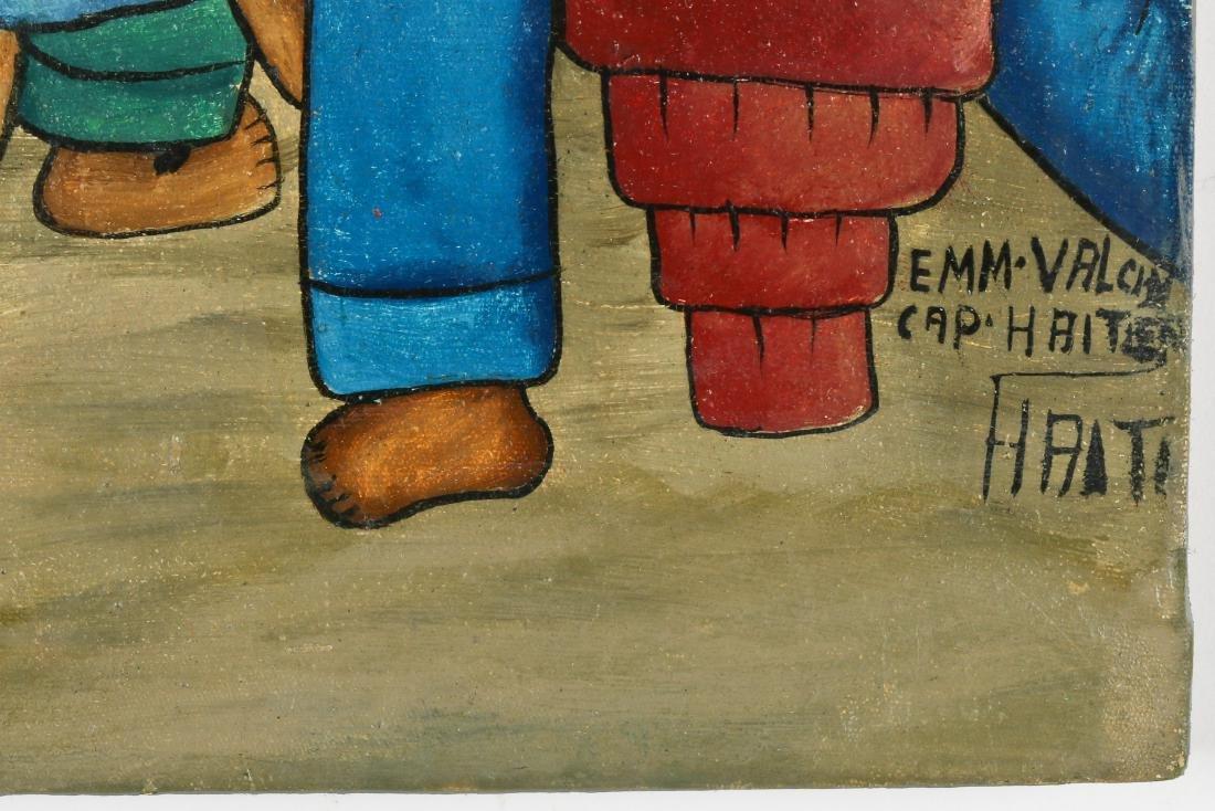 Emm Valcin (Haitian, 20th c.) Vodun Ceremony - 3