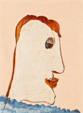 Jon Serl (1894-1993) Face